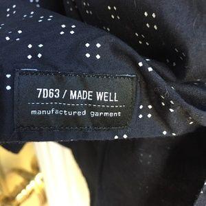 7 Diamonds Shirts - 7 Diamonds Show Out Print Button Down Shirt